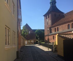 explore Stege on your bike trip in Denmark