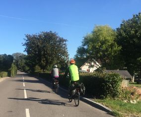 Ride along quiet roads on your bike holiday in Denmark