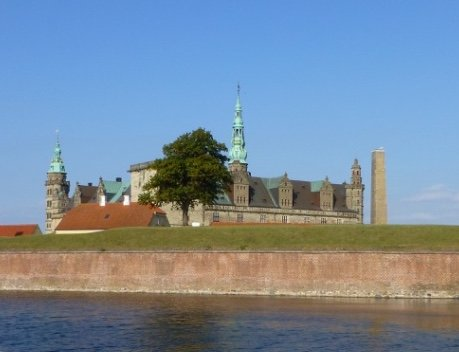 Kronborg Castle in Elsinore North Zealand