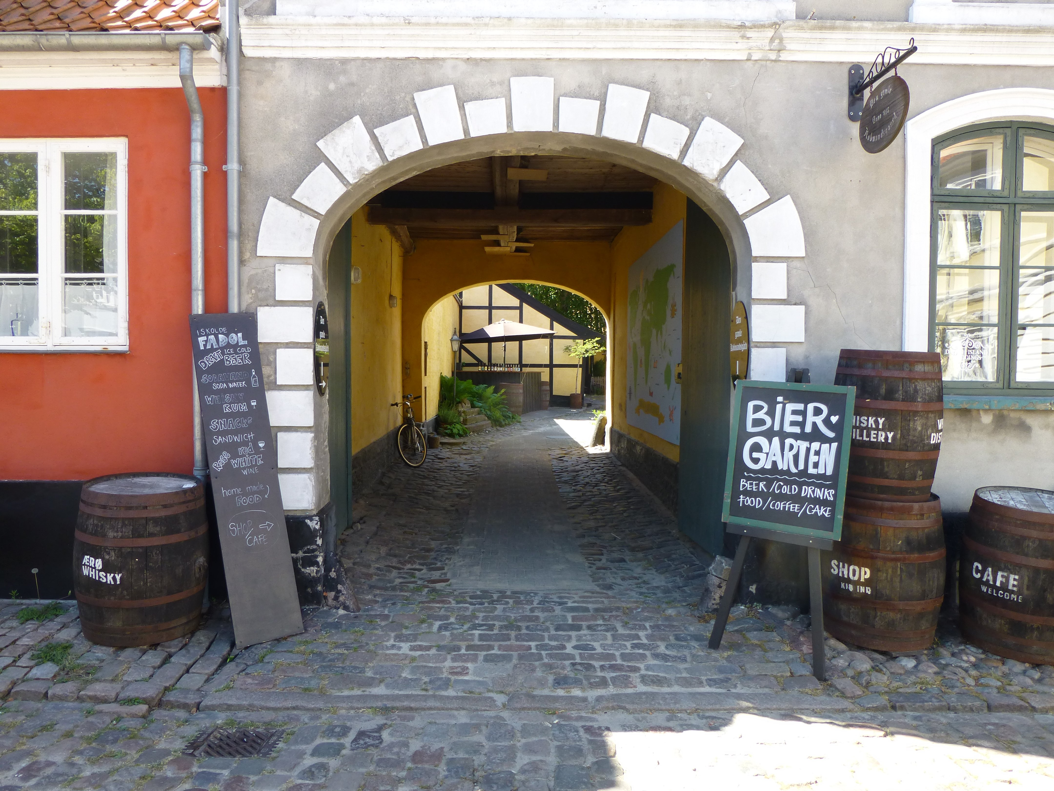 Visit Ærøskøbing on your 7 days Fyn Roundtrip bike trip