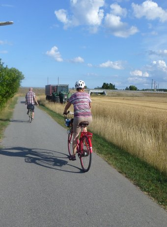 family friendly bicycle holidays in Denmark