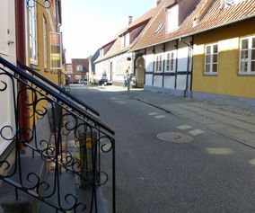 Explore the charming town Stege on your cycling holiday