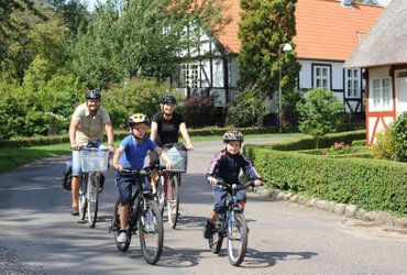 South Funen and nearby islands Loop bike tour Denmark
