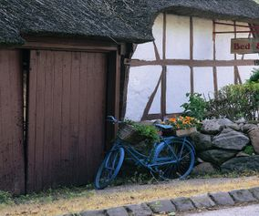 Staying in charming villages on your bike holiday